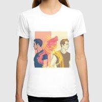 stiles T-shirts featuring derek and stiles by steammmpunk