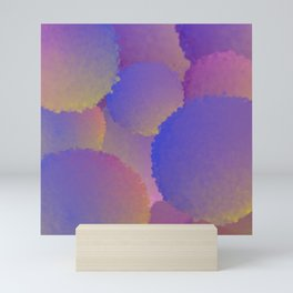 Purple Nuclear Fusion Mini Art Print
