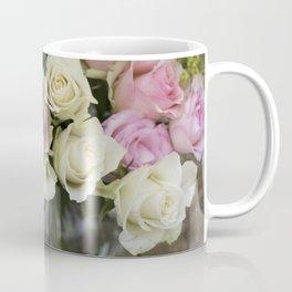 Rose Bouquet in a Vase Coffee Mug