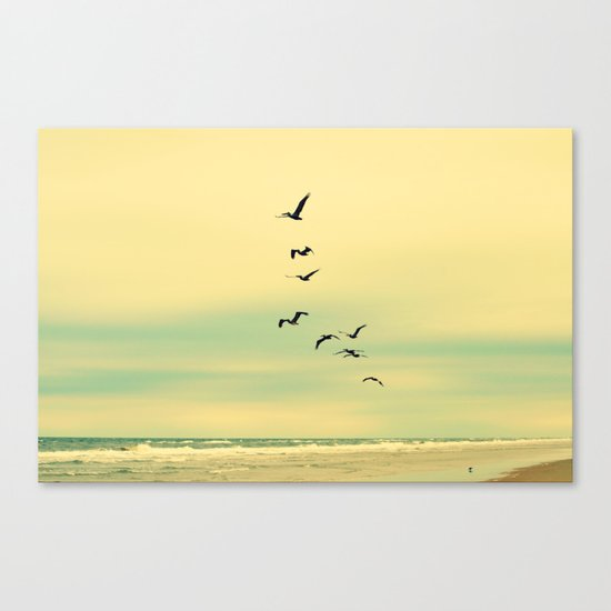 Across the Endless Sea Canvas Print