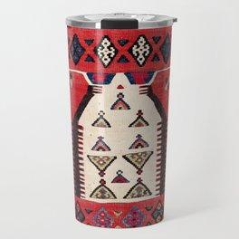 Aydinli Southwest Anatolian Niche Kilim Print Travel Mug