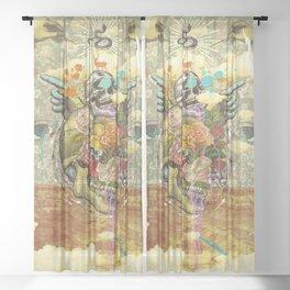 CANYON VISIONS Sheer Curtain
