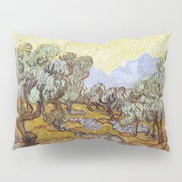 Olive Trees by Vincent van Gogh Pillow Sham