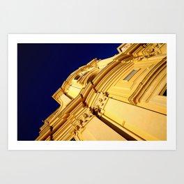 Vieux Nice Chapel Art Print