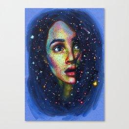 Shooting star Canvas Print