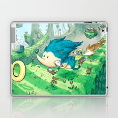 Starring Sonic and Miles 'Tails' Prower (Blue Version) Laptop & iPad Skin
