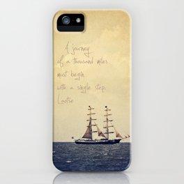 Sailing II iPhone Case