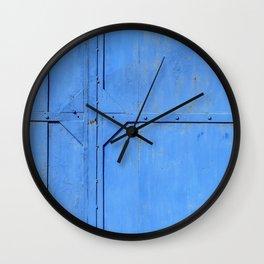 Rusty Metal Sheet Wall Clock