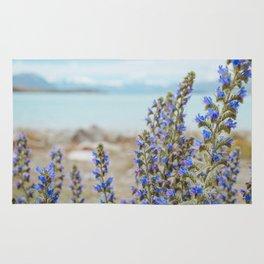 Lake Tekapo Flower Delight Rug