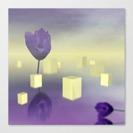 yellow light Canvas Print