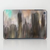 skyline iPad Cases featuring Skyline by Rafael&Arty