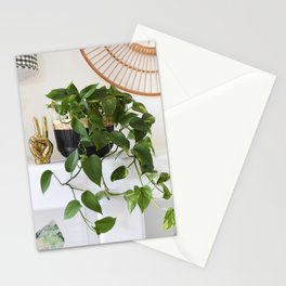 Pothos Houseplant Stationery Cards