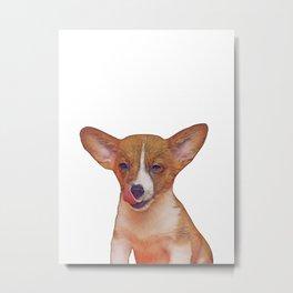 winking puppy Metal Print