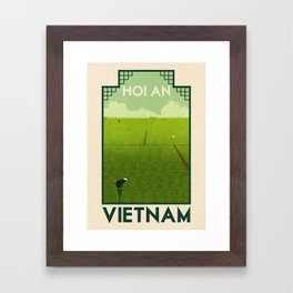 Vietnam - Hoi An Framed Art Print