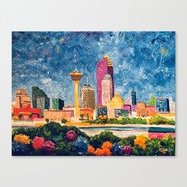 San Antonio Celebration Canvas Print