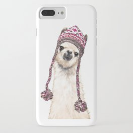 The Llama with Hat iPhone Case