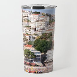 Small beach Ulcinj Travel Mug