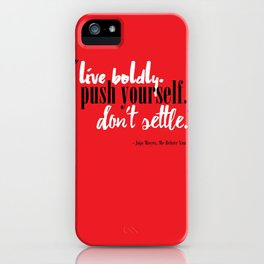 Me Before You by Jojo Moyes Quote iPhone Case