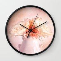 blossom Wall Clocks featuring Blossom  by Terri Ellis