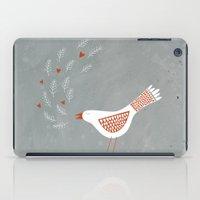 la iPad Cases featuring La la la by Nic Squirrell