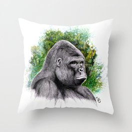 Harambe Throw Pillow