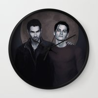 sterek Wall Clocks featuring Sterek by Armellin