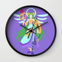 PALUTENA(SMASH)CONCEPT BLUE Wall Clock