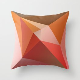 Abstract Composition 683 Throw Pillow
