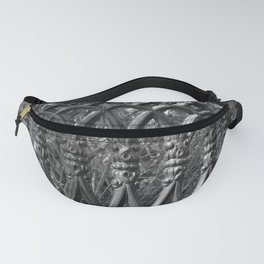 Iron Fence Pattern Fanny Pack