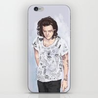 coconutwishes iPhone & iPod Skins featuring Harry 1D tattoos T-shirt by Coconut Wishes