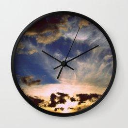 Mystic sunset Wall Clock