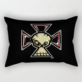 Skull Cross Rectangular Pillow