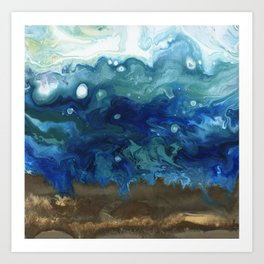 Ocean Surge Art Print