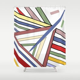 Haphazard Balance II Shower Curtain