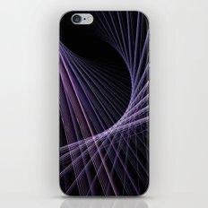 Purple Lines iPhone & iPod Skin