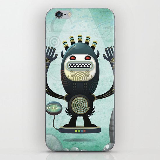 Alien Guard iPhone & iPod Skin
