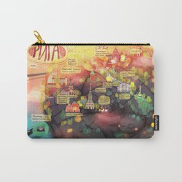 Map of Riga Carry-All Pouch