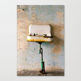 Rusted Sink Canvas Print