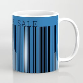 Not For Sale barcode Coffee Mug