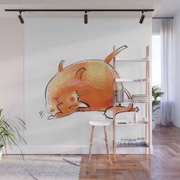 Yoga Cat #3 Wall Mural