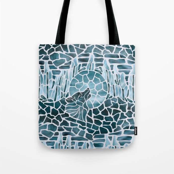 Moonlight Story (Platinum) Tote Bag