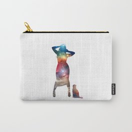 Rainbow Cat Girl Carry-All Pouch