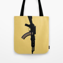 Art Not War - Yellow Tote Bag