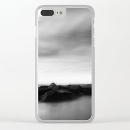 In Stillness Clear iPhone Case