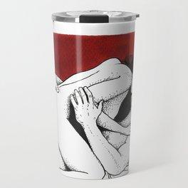Red. Travel Mug