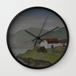 Cottages by the Sea WC160607o-15 Wall Clock