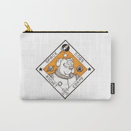 Space Dogs Rocket Corps Carry-All Pouch