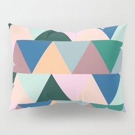 Triangular Geometric Pattern Pillow Sham