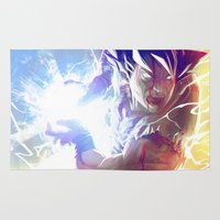 goku Area & Throw Rugs featuring Goku by MATT DEMINO