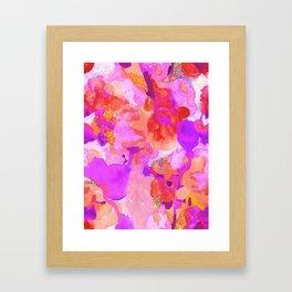 Lava Elements (Cosmic Watercolour) Framed Art Print